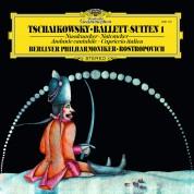 Mstislav Rostropovich, Berliner Philharmoniker: Tchaikovsky: Ballet Suit - Nutcracker, Capriccio italien - Plak
