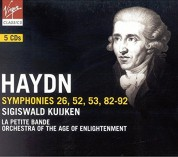 La Petite Bande, Orchestra of The Age of Enlightenment, Sigiswald Kuijken: Haydn: Symph. 26, 52, 53, 8 - CD