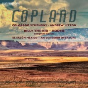 Colorado Symphony, Andrew Litton: Copland: Billy the Kid - SACD