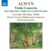Lorraine McAslan: Alwyn: Violin Concerto - CD