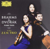The Z.E.N. Trio: Brahms, Dvorak: Piano Trios - CD