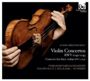 Freiburger Barockorchester, Gottfried von der Goltz, Petra Müllejans: Bach: Violin Conertos BWV 1041-1043 - CD