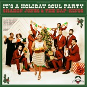 Sharon Jones, The Dap Kings: It's a Holiday Soul Party! (Green Vinyl) - Plak