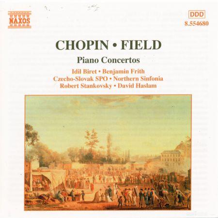 Chopin: Piano Concerto No. 2 / Field: Piano Concerto No. 1 - CD