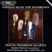 Triton Trombone Quartet: German Music for Trombone Quartet - CD