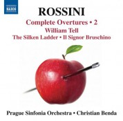 Christian Benda, Prague Sinfonia: Rossini: Complete Overtures, Vol. 2 - CD