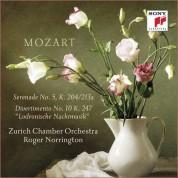 Sir Roger Norrington, Zurich Chamber Orchestra: Mozart: Serenade Nr.5 KV 204 - CD