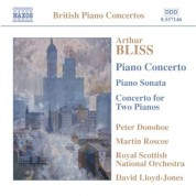Bliss: Piano Concerto / Piano Sonata / Concerto for 2 Pianos - CD