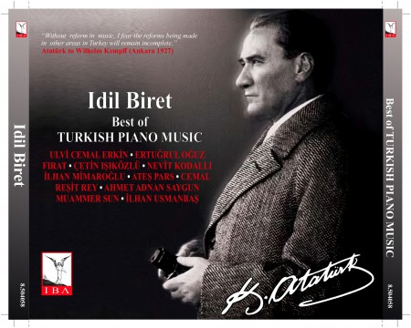 İdil Biret - Best Of Turkish Piano Music - CD