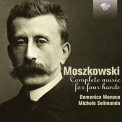 Domenico Monaco, Michele Solimando: Moszkowski: Complete Music for Piano Four Hands - CD