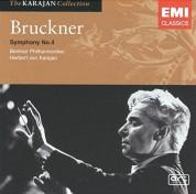 Berliner Philharmoniker, Herbert von Karajan: Bruckner: Symphony No.4 - CD