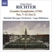 Helsinki Baroque Orchestra: Richter, F.X.: Grandes Symphonies (1744), Nos. 7-12 (Set 2) - CD