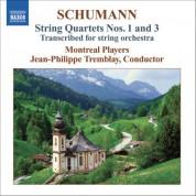 Schumann: String Quartets Nos. 1 & 3 (Arr. for String Orchestra) - CD