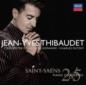 Charles Dutoit, L'Orchestre de la Suisse Romande: Saint-Saëns: Piano Concertos 2 & 5 - CD