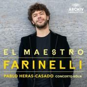Bejun Mehta, Concerto Köln, Pablo Heras-Casado: El Maestro Farinelli - CD