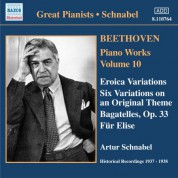 Beethoven: Eroica Variations / Bagatelles, Op. 33 / Variations, Op. 34 (Schnabel) (1937-1938) - CD