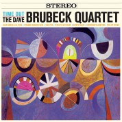 Dave Brubeck: Time Out + 1 Bonus Track! Limited Edition in Solid Orange Colored Vinyl. - Plak