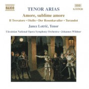 Janez Lotric: Tenor Arias - CD