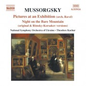 Ukraine National Symphony Orchestra: Mussorgsky: Pictures at an Exhibition - CD