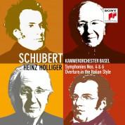 Heinz Holliger, Kammerorchester Basel: Schubert: Symphonies 4 & 6 - CD