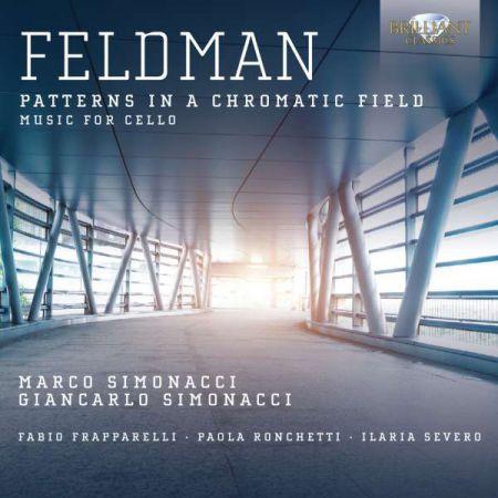 Marco Simonacci, Giancarlo Simonacci: Feldman: Music for Cello - CD