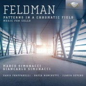 Marco Simonacci, Giancarlo Simonacci: Feldman: Music for Cello - CD