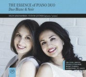 Duo Blanc & Noir: The Essence of Piano Duo - CD
