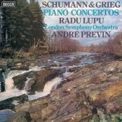 Radu Lupu, London Symphony Orchestra, André Previn: Schumann/ Grieg: Piano Concertos - Plak