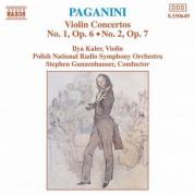 Ilya Kaler: Paganini: Violin Concertos Nos. 1 & 2 - CD