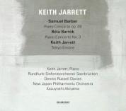 Keith Jarrett, Dennis Russell Davies, Kazuyoshi Akiyama: Barber, Bartok: Piano Con. - CD