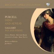 Nicola Wemyss, Matthew Baker, Johannette Zomer, Marc Pantus, Musica ad Rhenum, Jed Wentz: Purcell: Dido and Aeneas - Galliard: Pan and Syrinx - CD