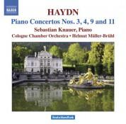Sebastian Knauer: Haydn: Piano Concertos, Hob.Xviii:3,4,9,11 - CD