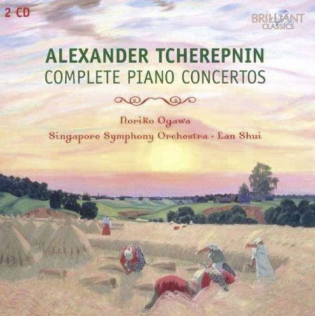 Noriko Ogawa, Singapore Symphony Orchestra, Lan Shui: Tcherepnin: Complete Piano Concertos - CD
