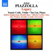 Tomas Cotik, Tao Lin: Piazzolla: Legacy - CD