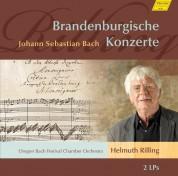 Oregon Bach Festival Chamber Orchestra, Helmuth Rilling: J.S. Bach: Brandenburgische Konzerte No 1-6 - Plak