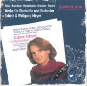Sabine Meyer, Wolfgang Meyer, Württembergisches Kammerorchester Heilbronn, Jörg Faerber: Works For Clarinet and Orchestra (Cologne Edition) - CD