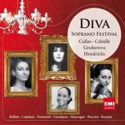 Maria Callas, Montserrat Caballe, Edita Gruberova, Barbara Hendricks, Anna Moffo, Ruth Ann Swenson, Mirella Freni, Renata Scotto, Ghena Dimitrova, Beverly Sills: Diva - Soprano Festival - CD