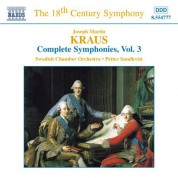 Kraus: Symphonies, Vol.  3 - CD