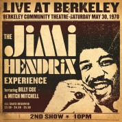 Jimi Hendrix: Live At Berkeley - Plak