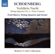 Fred Sherry String Quartet, Fred Sherry String Sextet: Schoenberg: String Quartet No. 1 & Verklärte Nacht - CD