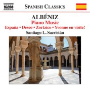 Santiago L. Sacristán: Albéniz: Piano Music, Vol. 6 - CD