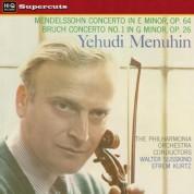 Yehudi Menuhin: Mendelssohn & Bruch: Violin Concerto - Plak
