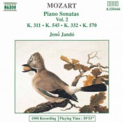 Jeno Jando: Mozart: Piano Sonatas, Vol. 2 (Piano Sonatas Nos. 9, 12, 16 and 17) - CD