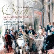 Harmonices Mundi, Claudio Astronio, Marco Facchin: W.F. Bach: Harpsichord Concertos - CD