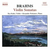 Brahms: Violin Sonatas Nos. 1-3, Opp. 78, 100 and 108 - CD