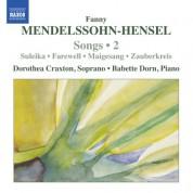 Dorothea Craxton: Mendelssohn-Hensel: Lieder, Vol. 2 - CD