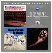 Deep Purple: Triple Album Collection (In Rock/Fireball/Deep Purple With The Royal Philharmonic Orchestra) - CD