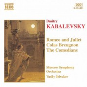 Moscow Symphony Orchestra: Kabalevsky, D.B.: Romeo and Juliet / Colas Breugnon / Comedians - CD