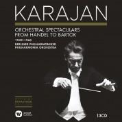Herbert Von Karajan, Philharmonia Orchestra, Berliner Philharmoniker: Herbert von Karajan Edition 9 - Orchestral Spectaculars from Handel to Bartok 1949-1960 - CD