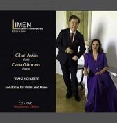 Cihat Aşkın, Cana Gürmen: Schubert: Sonatinas for Violin and Piano - CD